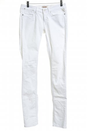Replay Jeans a gamba dritta bianco stile semplice