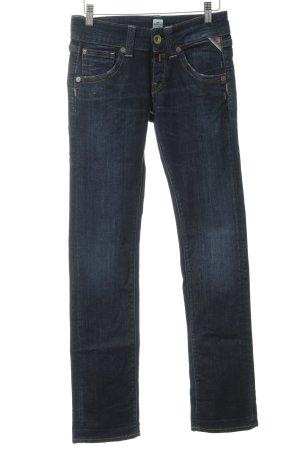 Replay Stretch Jeans dunkelblau Jeans-Optik