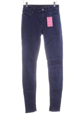 Replay Stretch Jeans dunkelblau-schwarz Casual-Look