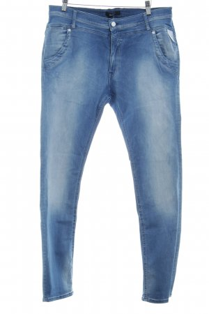 Replay Jeans stretch bleuet style décontracté