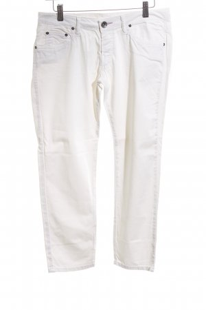Replay Stretch Trousers white casual look