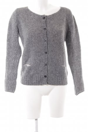 Replay Cardigan tricotés gris-gris brun style décontracté