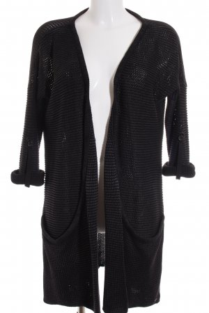 Replay Strickjacke schwarz Used-Optik