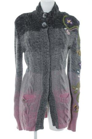 Replay Manteau en tricot motif de fleur style décontracté