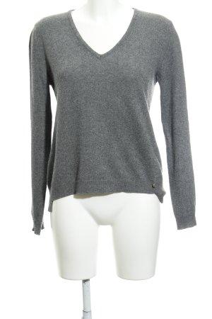 Replay Pull tricoté gris style décontracté