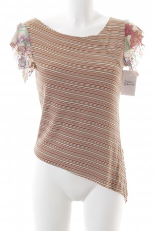 Replay T-Shirt Blumenmuster Romantik-Look