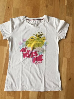 "Replay T-Shirt mit Frosch ""Kiss ne"""