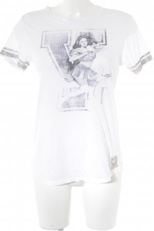 Replay T-Shirt Motivdruck Casual-Look