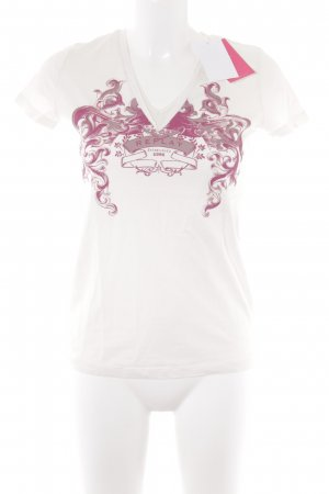 Replay T-Shirt wollweiß Casual-Look