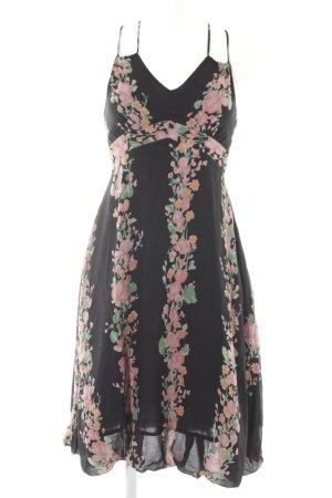 Replay Vestido tipo overol estampado floral estilo romántico