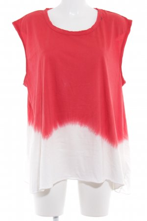 Replay Strappy Top white-red batik pattern casual look
