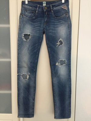 Replay, used-look Jeans