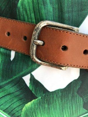 Replay Cintura di pelle multicolore Pelle