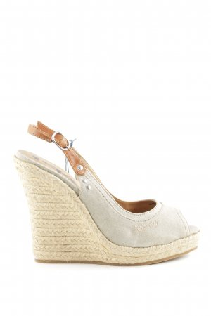 Replay Wedges Sandaletten wollweiß-creme Casual-Look