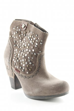 Replay Western Booties light brown-grey brown country style