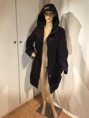 Replay Manteau d'hiver bleu foncé