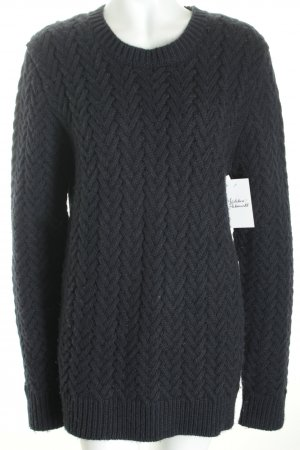 Replay Wollpullover dunkelblau Urban-Look