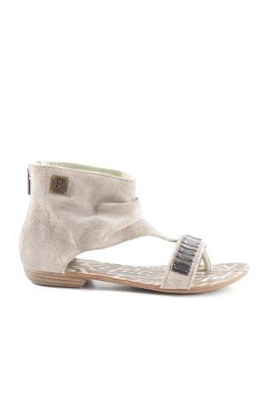 Replay Sandalo toe-post grigio chiaro stile stravagante