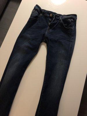 Replay Boyfriend jeans donkerblauw
