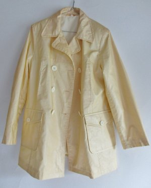 Vintage Heavy Raincoat multicolored mixture fibre