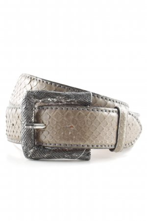 Reptile's House Leather Belt multicolored extravagant style