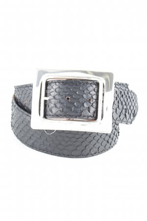Reptile's House Leather Belt black casual look