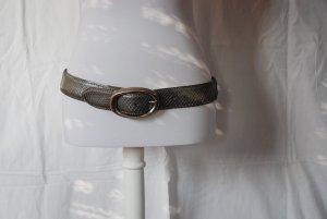 Reptiles House Gürtel mit silber Schließe