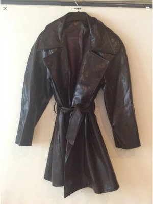 Heavy Raincoat dark brown