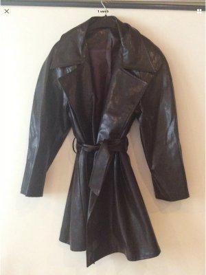 Heavy Raincoat dark brown