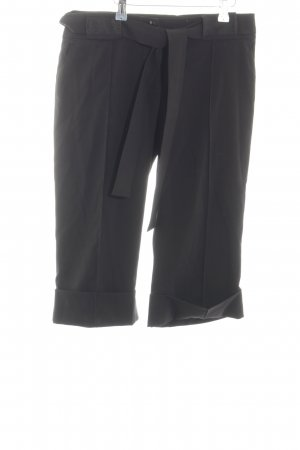 Reserved Pantalone a 3/4 nero stile casual