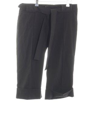 Reserved Pantalon 3/4 noir style décontracté