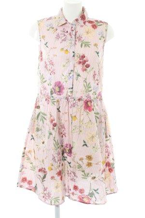 Reserved A-Linien Kleid Blumenmuster Casual-Look