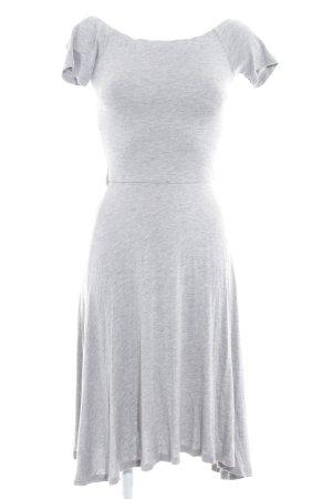 Reserved A-Linien Kleid hellgrau Casual-Look