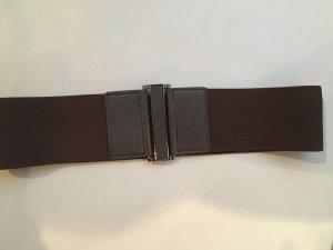Reserved Cintura vita marrone scuro Tessuto misto