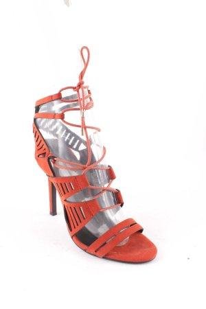 Reserved High Heel Sandal russet elegant