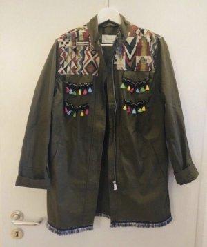 Reserved Oversized jack khaki