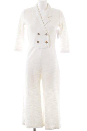 Reserved Jumpsuit wollweiß Elegant