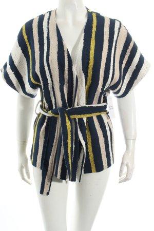 Reserved Kimono Pullover Streifenmuster extravaganter Stil