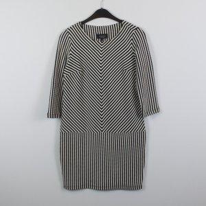 RESERVED Kleid Gr. XS schwarz weiß (18/10/251/E)