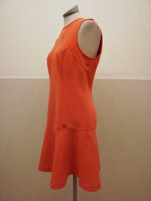 reserved Kleid orange Gr. 38 S M kurz retro 60ies Minikleid