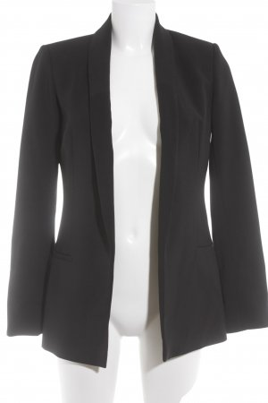 Reserved Kurz-Blazer schwarz Business-Look