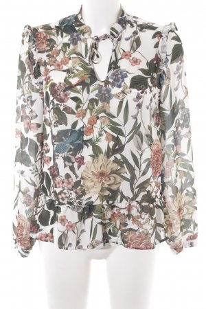 Reserved Langarm-Bluse Blumenmuster Business-Look