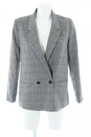 Reserved Long-Blazer Karomuster Business-Look