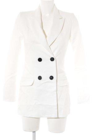 Reserved Long-Blazer weiß Business-Look