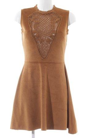 Reserved Minikleid braun Street-Fashion-Look