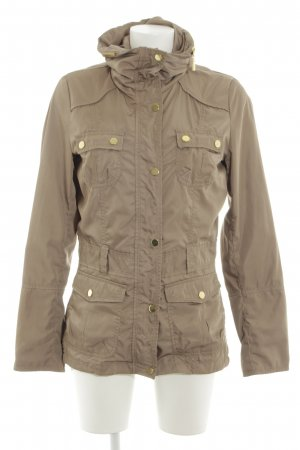 Reserved Parka blanco puro look casual