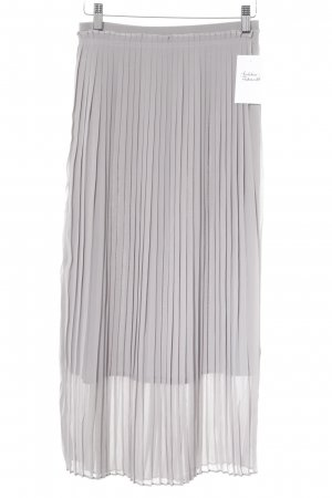 Reserved Pleated Skirt light grey Paris-Look