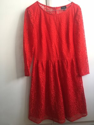 Reserved Babydoll Dress red