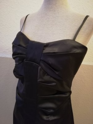 Reserved Satinkleid Kleid Gr. 36 38 S drapiert Schleife kurz knielang Partykleid