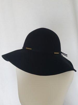 Reserved Cappello a falde larghe nero-oro